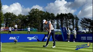 【男子ゴルフ】星野陸也、S・ビンセント、植竹勇太のスタートホールティショット!第47回ANAオープンゴルフトーナメント Final Round
