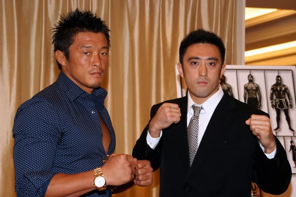 9.23「DREAM.6」(さいたまSA)の秋山成勲(左)の対戦相手は、正道会館の外岡真徳に決定