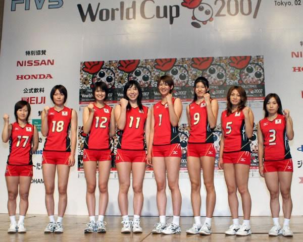 代表 女子 バレー 日本