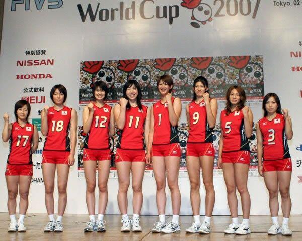 バレー 全日本 メンバー 女子
