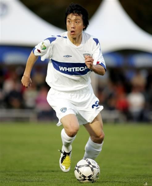USLのバンクーバー・ホワイトキャップスでプレーする平野孝