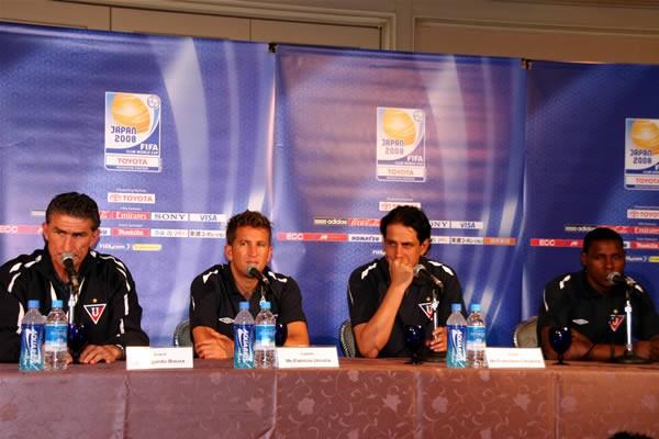 ブラジル、アルゼンチン以外の国のチームで初めて南米代表となったエクアドルのリガ・デ・キト