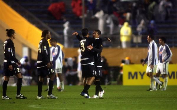パチューカはリガ・デ・キトに0−2で敗れ、決勝進出はならなかった