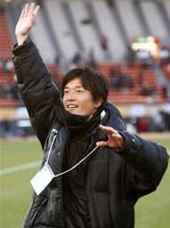 選手権で初優勝を成し遂げた広島皆実を率いる藤井潔監督
