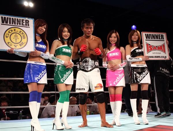 渋谷(中央)が第二代ZSTウェルター級王者に輝く