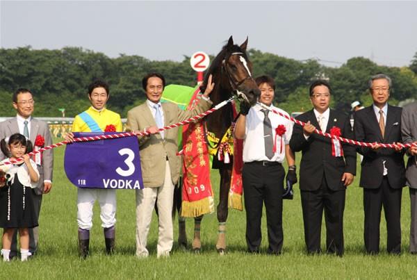 ウオッカが安田記念を連覇 牝馬としては史上初のGI6勝、そして獲得賞金10億円を突破した
