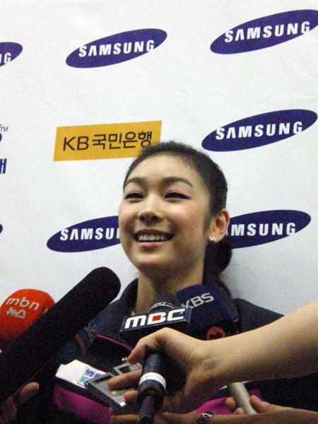 韓国で行われたアイスショー出演したキム・ヨナ
