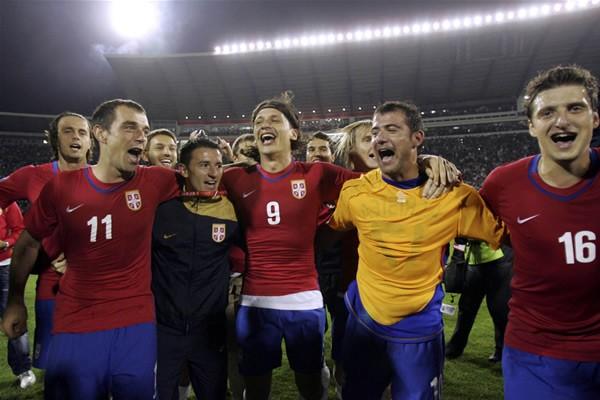 セルビアは10日のルーマニア戦に大勝。W杯本大会出場を決めた