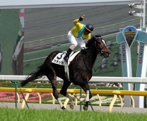 GI7勝、稀代の名牝ウオッカが引退(写真は07年日本ダービー)