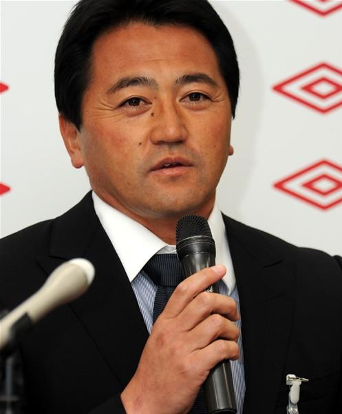 ツエーゲン金沢の上野監督は初のJFLに「一戦一戦大事に戦いたい」と語る