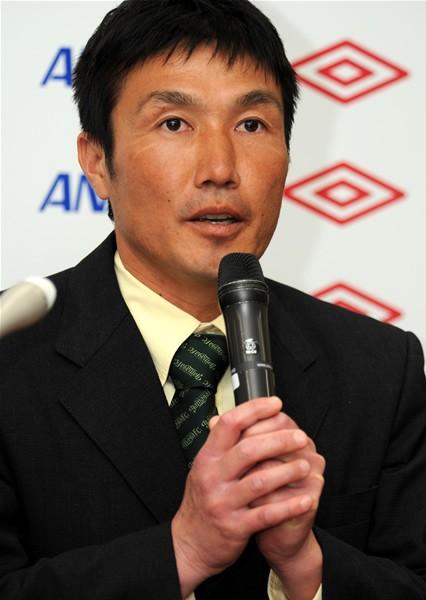 今季JFLに昇格した松本山雅FC。「昇格を狙う」と吉澤監督