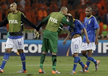 """ブラジルの選手たちは明らかにナーバスだった。そのため、敗因は""""理性の喪失""""といわれている"""