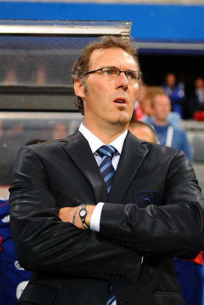 ノルウェー代表との親善試合に挑んだフランス代表のブラン新監督