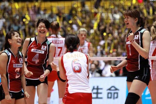 世界バレー女子開幕! 日本、初戦で逆転勝利=戦評 - スポーツナビ
