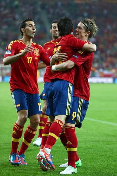 スペインはアイルランド戦で4−0と大勝。しかし、内容にふさわしいスコアは手にすることができていない