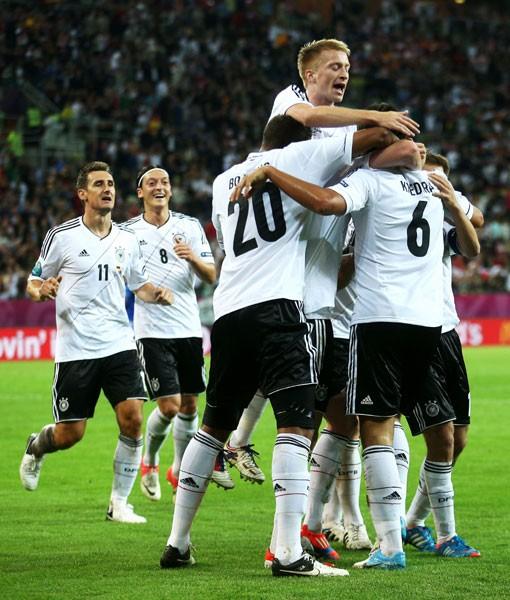 今大会のドイツはバランスを重視しており、ドルトムント化はなされていない