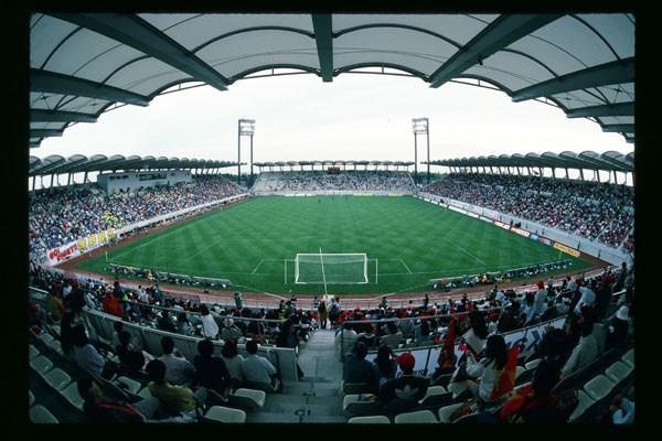 1993年Jリーグ開幕当初のカシマスタジアム