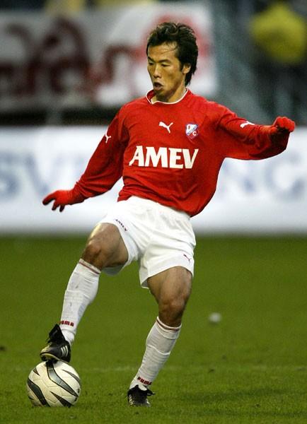 選手時代はオランダのユトレヒトでもプレー。藤田の海外志向は当時から強かった