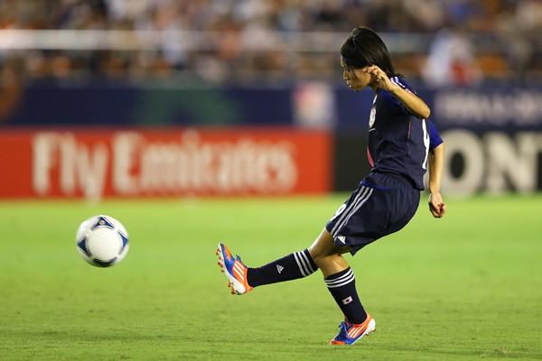 ヤングなでしこの田中陽子もJFAアカデミー福島の1期生。幸野とともに、高い技術を持つ
