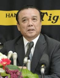 阪神史上初のGMに就任した中村勝広氏