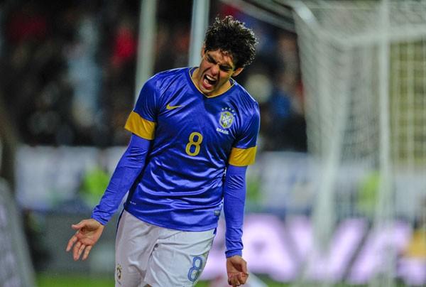 南アフリカW杯以来の代表復帰となったカカ。イラク戦ではゴールも決めた