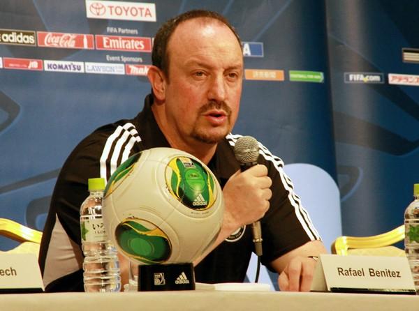 ベニテス監督は優勝を目標に掲げながらも、目の前の試合を大事に戦っていくと語った