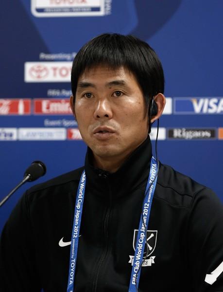 広島のサッカーが世界に通用したことを喜ぶ森保監督(写真は11日の会見のもの)