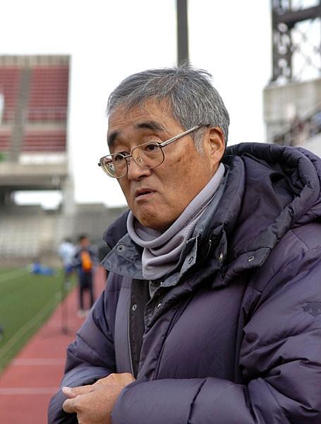 清商を全国有数の強豪高に育て上げた大瀧監督。多くの日本代表選手を輩出した