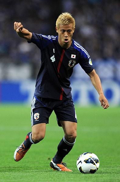 絶大な存在感を発揮している本田。W杯での躍進を狙う上で、チームメートにも『宿題』を出した