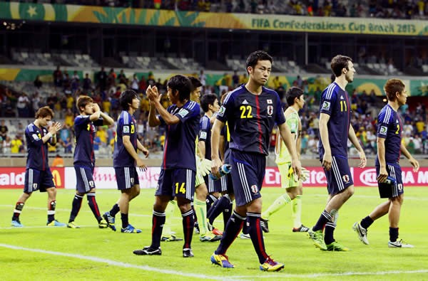 コンフェデ杯を3戦全敗で終えた日本代表。その戦いぶりを対戦国の記者はどのように評価したのか