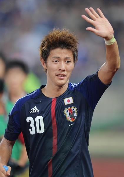 東アジア杯で3得点を挙げ得点王を獲得した柿谷。日本代表定着への第一歩となるか