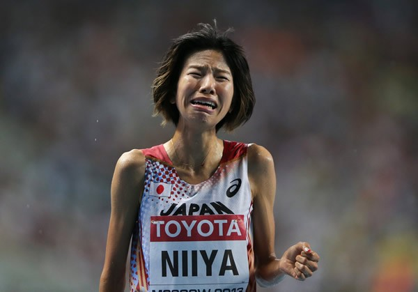 5位入賞も悔し涙を見せた新谷。積極的な走りで若い世代に伝えたかった思いとは?
