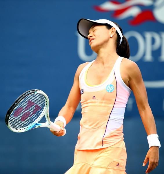 全米オープン、女子シングルスのクルム伊達は初戦で姿を消した