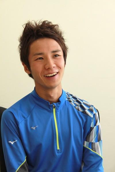 大阪マラソンで芸能人最速記録更新を目指すげんき〜ずの宇野さんが、マラソンへの思いなどを語った