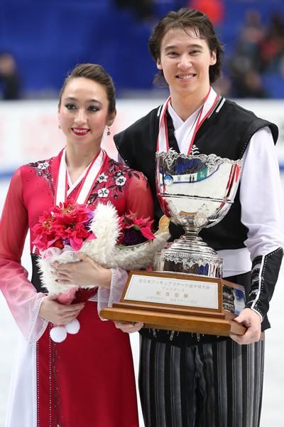 アイスダンス日本代表リード姉弟組。笑顔の耐えない二人は、インタビューでも息ぴったり!?
