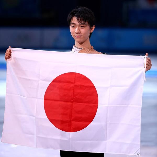 日本男子初のフィギュア金メダリストとなった羽生は「ここからがスタート」とまだまだ上を目指している