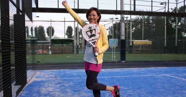 今回、体験取材をしていただいた遠藤紗希さんもパデルの魅力にとりつかれたよう
