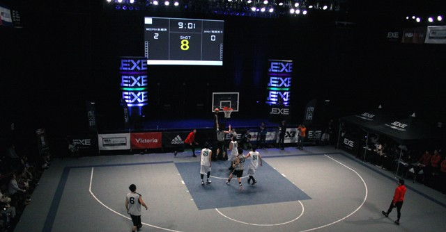 1月12日、「3x3」の初代日本チャンピオンを決めるトーナメントが開催された