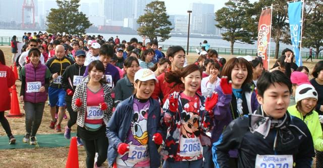 チョコ好きのためのマラソン大会  「チョコラン2014 in 東京」が開催!
