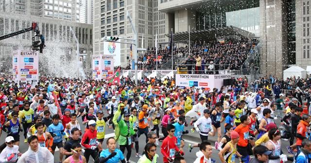 ことしは国内はもちろん、海外からも数多くの一般ランナーが参加した東京マラソン2014