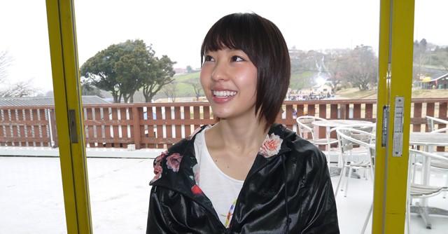 「トレイルランに参加できてうれしかった」と笑顔の藤江さん
