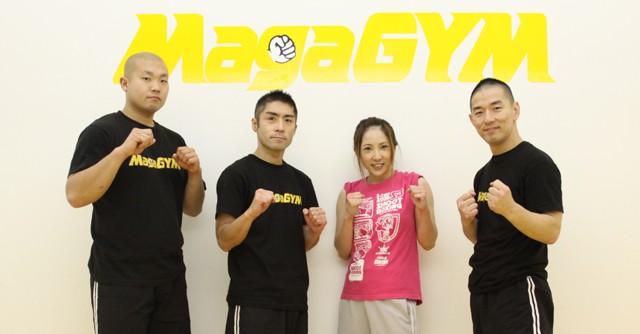 (左から)インストラクターの奈良恒也さん、徳山洋さん、風香さん、西尾健さん