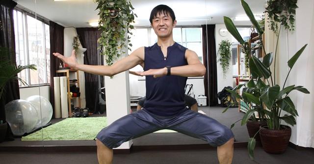 シコアサイズの指導をしていただいた内田先生はボクシング、キックボクシングの経験者でマラソンのサブスリーランナーでもある