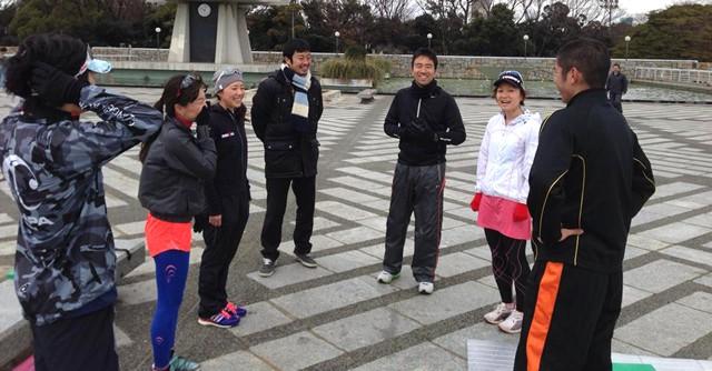 参加した一般ランナーは驚くべき効果にみんな笑顔