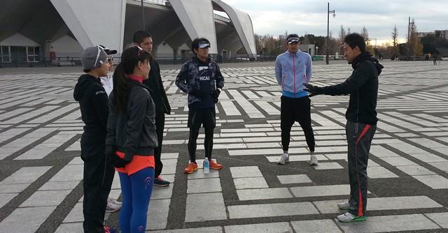 今年から一般ランナー向けに新田コーチのランニング講座がスタートした