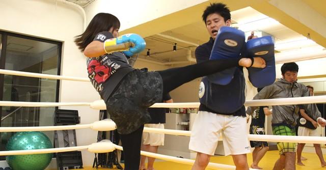 潜在的にキックボクシングに興味のある女子はいっぱいいる!?