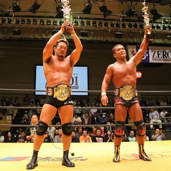 弾丸ヤンキースが大谷&KAMIKAZE組を破り、インターコンチネンタル タッグ王座を獲得。GHCタッグとの2冠へ王手をかけた
