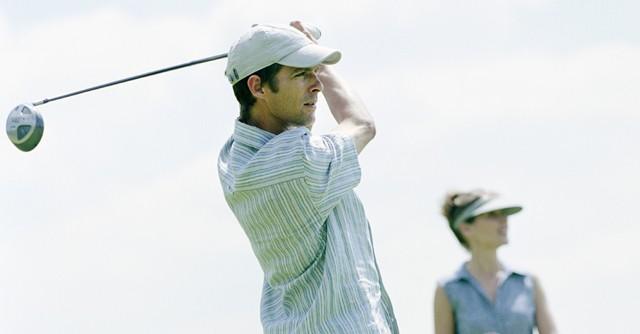 胸椎の可動域を広げてゴルフの腰痛を防ぐ ケガをしにくいトレーニング(2)