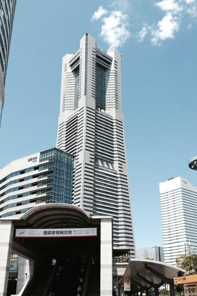 FMヨコハマのスタジオがある、横浜ランドマークタワー