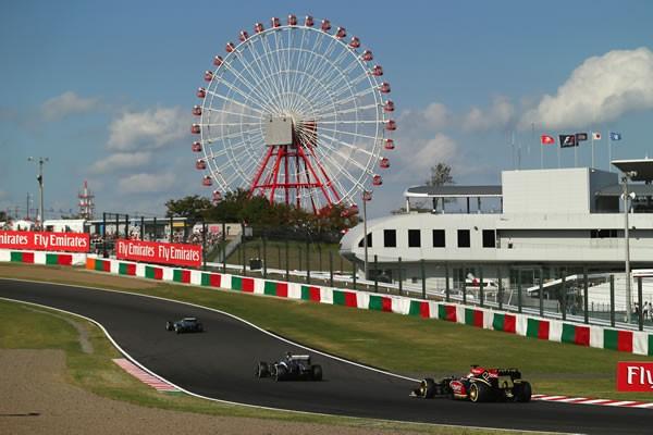 日本GPは87年から鈴鹿サーキットで開催されている(07、08年は富士スピードウェイ)。近年、開催権料の高騰もあって自治体との協力は欠かせない